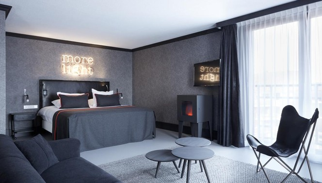 Executive Suite Noir TheaterHotel De Oranjerie